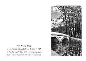 Trinity Bridge greetings card